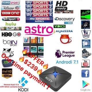 Life time FREE IPTV For Singapore users(Malay/Chinese/Indian/English) Smooth HD channels such as Full Astro/HBO/Fox/Sky sports and many more -IGTV