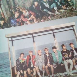 BTS [ YOU NEVER WALK ALONE ] ALBUMS POSTER