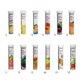 [德國] Rossmann altapharma 維他命 發泡錠 泡騰片 共12種口味 每個20片