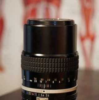Nikon 135mm f3.5 Ai