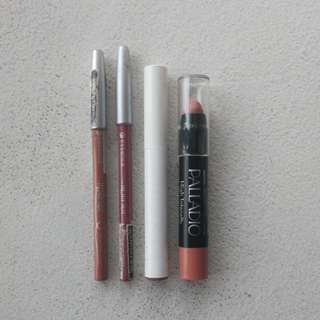 Bundle! colourpop lippiestix and Essence Lip liners and Lippies!