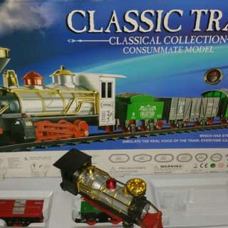 Classic train collection consummate model