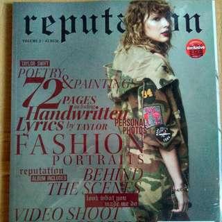 Taylor Swift Reputation Vol.2