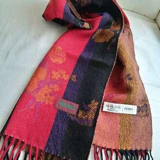 Kenzo Vintage Scarf 頸巾 圍巾