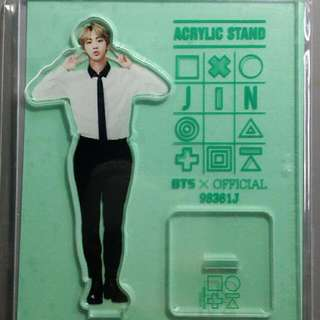 Jin 3rd muster acrylic stand