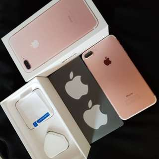 Fast deal with $750 iPhone 7 Plus (Warranty till May'18)