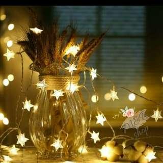 浪漫星星裝飾造型燈串