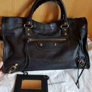 98%新 巴黎世家 袋Balenciaga classic city bag purse handbag not prada chanel