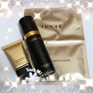 《聖誕大優惠》USA Maione 聖誕禮物 旅行套裝 噴噴 隔離霜 面膜 試用裝 BB Cream Mask Skincare gift set special offer