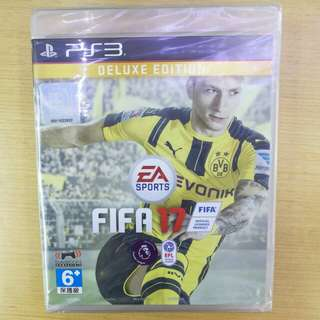 PS3 Fifa 17 Deluxe Edition