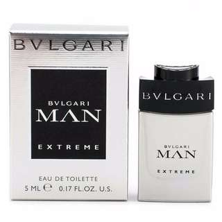 【Great Gift Idea!】Bvlgari MAN Extreme EDT 5ml