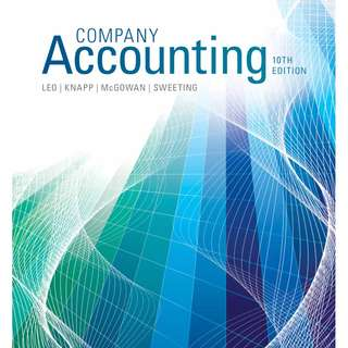 Company Accounting PDF version