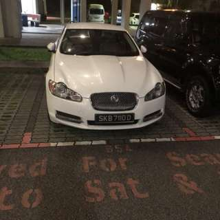 Jaguar XF rental