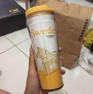 Starbucks tumbler sweden