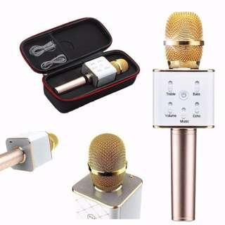 Karaoke Microphone Q7, New