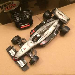 Tyco R/C 6V DP Mclaren Formula toy car
