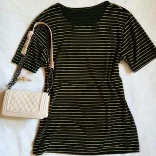 Stripe Tshirt Dress