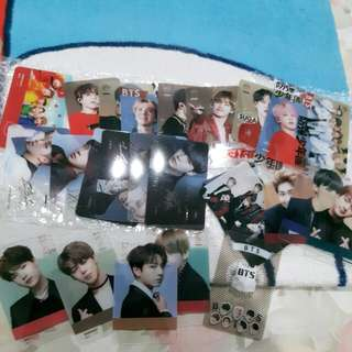 [Imported] BTS Transparant Card 25pcs