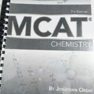 MCAT chemistry +++ a TON of other GAMSAT resources