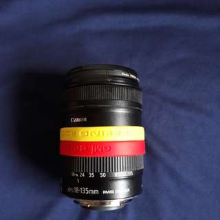 Canon lens 18-135mm