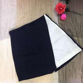 Black White fake Dress Pant