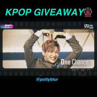 @POTTYBLUR GIVEAWAY