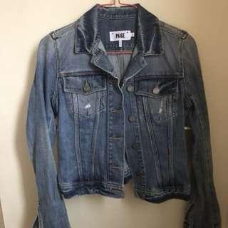 Paige Denim Jacket Size XS