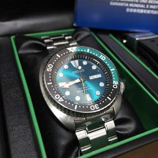 Seiko prospex turtle green limited edition