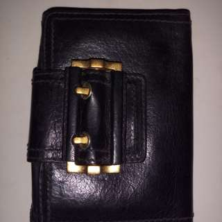 Vintage givenchy leather wallet