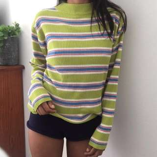VINTAGE TURTLE NECK SWEATER