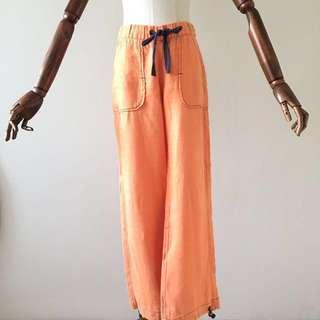 Ochirly 100% Linen Pants