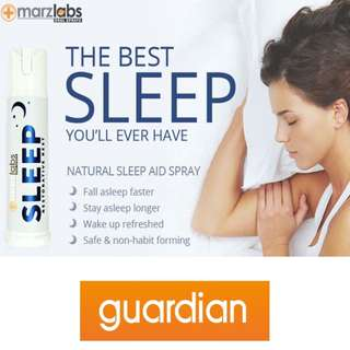$20 Guardian Pharmacy Marz Labs Sleep Spray for insomnia from USA (usual price $29.90) sleeping pill