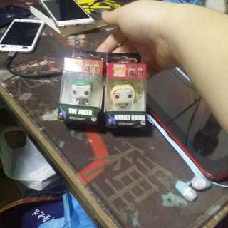 ★SET★ [Funko Pop] Suicide Squad Figurine Keychain