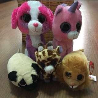 TY Soft Toys   stuffed toys