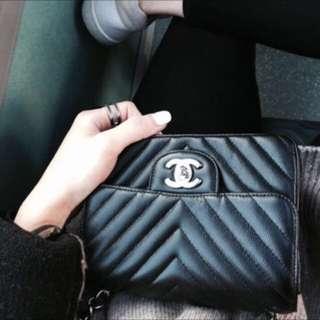 Chanel chevron mini