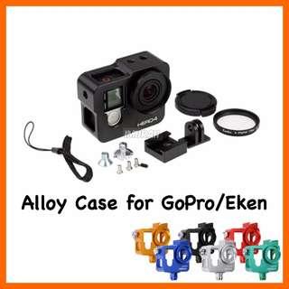 Aluminium Alloy Case Frame Housing Case + len UV filter for Gopro/Eken