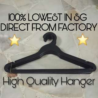 [IN-STOCK] Plastic Hanger For Clothes Dress Shirt