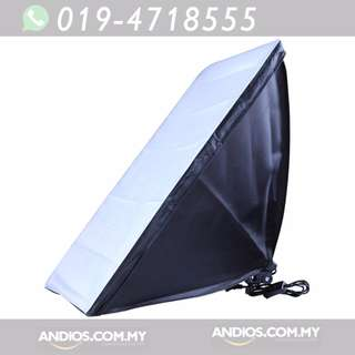 In-Stock✔50x70cm Studio E27 Single Light Lamp Bulb Tube Softbox Kit