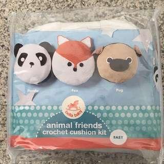Crochet kit (panda and pug only)