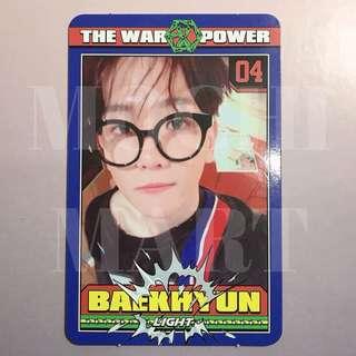 EXO BAEKHYUN SEHUN CHEN POWER PHOTOCARDS/PC