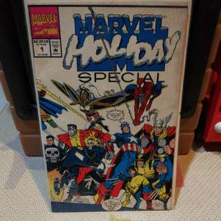 Marvel Comics Marvel Holiday Special Issue 1