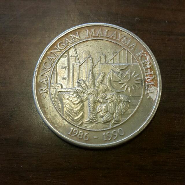 $1 RMKe5 1986