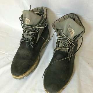 Sepatu booth timberland hitam