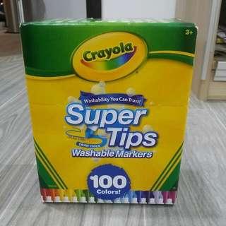 Crayola Supertips Markers 100 Count