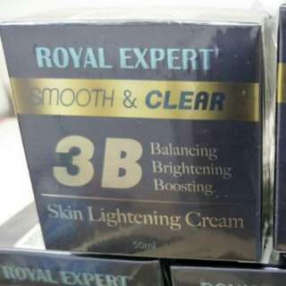 Royal expert skin whitening cream