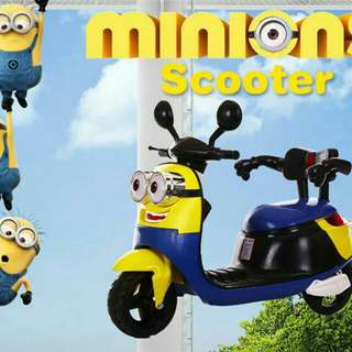 🐰Minions Scooter
