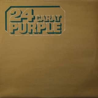 UK 1st 1975 Pressed Deep Purple – 24 Carat Purple  Label: Purple Records – TPSM 2002, Purple Records – 0C 054 o 96424  Format: Vinyl, LP, Compilation  Country: UK  Released: 1975  Genre: Rock  Style: Hard Rock