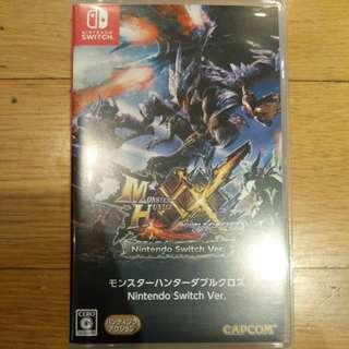 Monster Hunter XX (Switch/JP/Region Free)