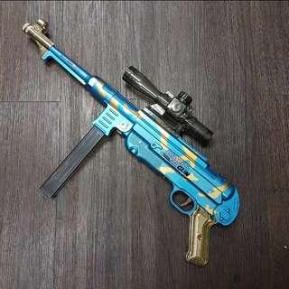 Mp40 Blue German Water Crystal Blaster