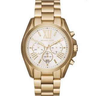 Bradshaw Michael Kors Stainless steel gold watch